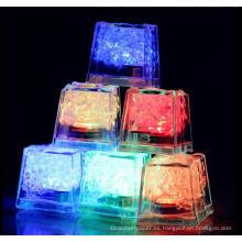 Parte LED resplandor palo cubo de hielo