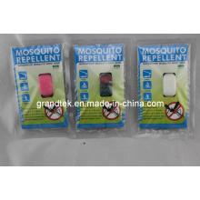 Certificación de goma del CE de la pulsera del mosquito de la venta caliente