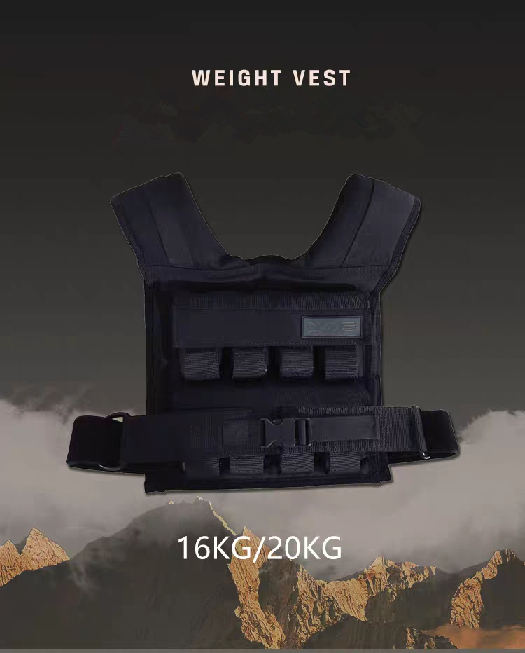 Gym Exercise 5-30kg Max Boxing Loading Adjustable Losing Weight Vest