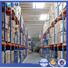 Heavy duty drive in rack with special protector/drive in racking for warehouse