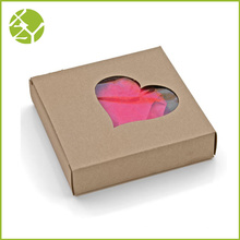 Herz Shap Fenster Display Geschenkbox