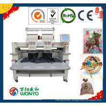 Wonyo Most Durable&Cheap Two Head Embroidery Machine