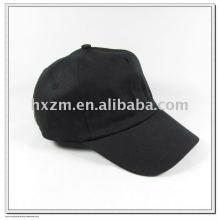 Schwarze fünf Panels Baseball Cap / Trucker Cap in Farben