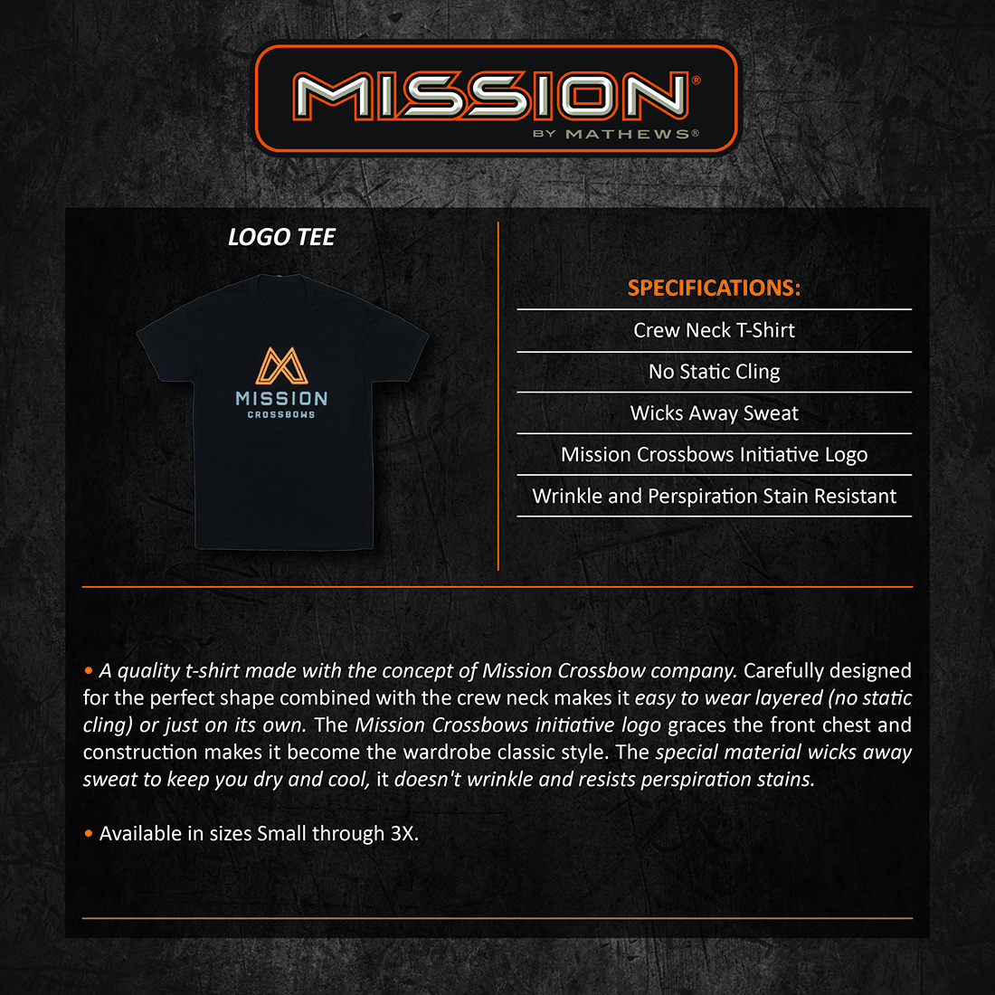 Mission_Crossbows_Logo_Tee_Product_Description