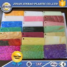 varios colores buena calidad 3 mm corian acrílico bordo