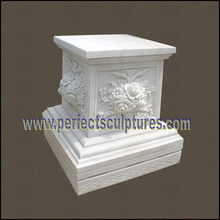 Granito de piedra base de mármol para la escultura de jardín (BA072)