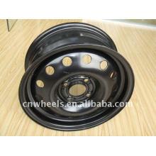 TUV aprovou a roda de aço de 18 polegadas para o carro de passageiro