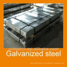 lentejuela cero galvanizado de láminas de acero para la construcción de material