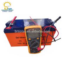 полностью герметичный низкая-техническое обслуживание солнечный свинцово-кислотная батарея геля 12 В 200ah 250AH 100АЧ