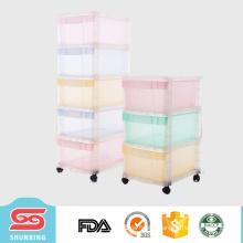 most popular multipurpose plastic storage cabinet with wheels
