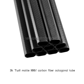 20x30x500mm Octagon Carbon Fiber Tube für Multicopter