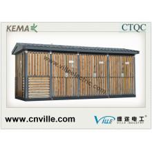33kv Prefabricated Distribution Combined Substation Power Transmission Power Supply Substation, Prefabricated Substation, Combined Substation