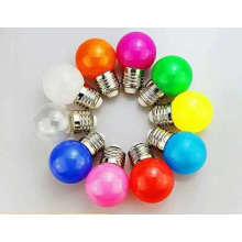 bombilla led colorida iluminación decorativa luces navideñas