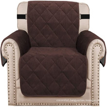 Living Room Thick Velvet Armchair Cover Couch Covers