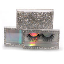 SL018FH Hitomi 3d Mink Lashes And Packaging soft natural mink eyelashes Fluffy 25mm Magnetic Mink Eyelashes