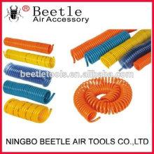 ferramenta pneumática do compressor de ar Bobina de ar plástica enrolada de PU / PE / NYLON
