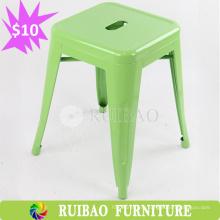 2016 Профессиональный штабелируемый металлический стул для стула без спинки