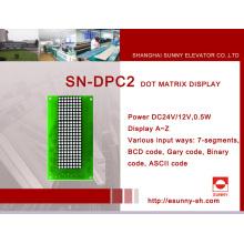 Матричный индикатор DOT для лифта (SN-DPC2)