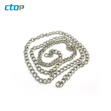Guangzhou factory leather metal for purses bag chain chain fashion wholesale handbag chain