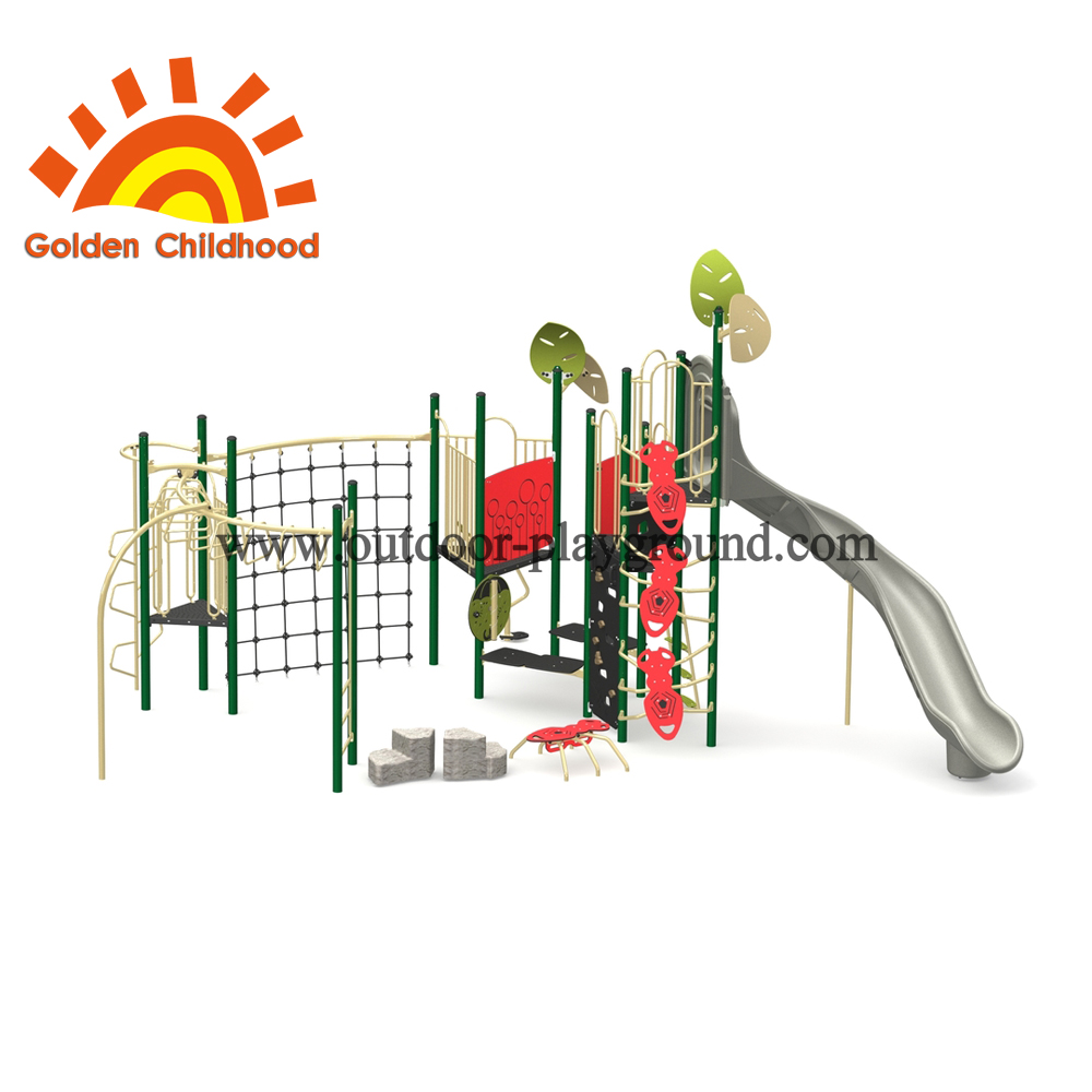 Natural Amusement Outdoor Playground Equipment