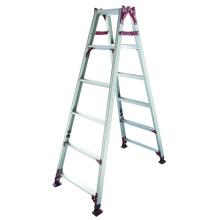Escada de alumínio com pé ajustável