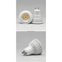 GU10 7W COB 85-265 Projecteur LED blanc chaud