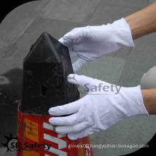 SRSAFETY white cotton inspection gloves