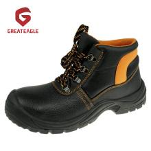 Chaussures de sécurité en acier avec semelle intercalaire et semelle intermédiaire