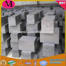Cilindros de grafito de alta pureza / bloques de grafito para el rodamiento autolubricante