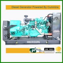 Alimentado por Cummins 160kw / 200kva Diesel Generator