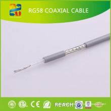 Chine Vente de haute qualité à bas prix coaxial câble Rg58