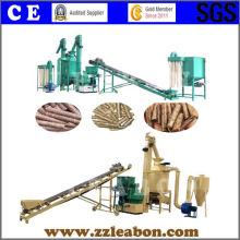 Línea de Producción de Pellets de Madera de Aserrín de Biomasa CE