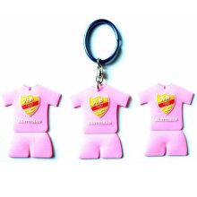 Porte-clés en PVC, cadeau promotionnel