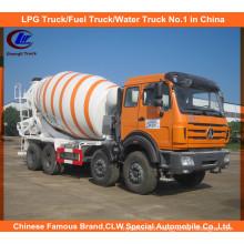 North Benz 14cbm Diesel Mixer Truck Concrete Heavy Duty Angola