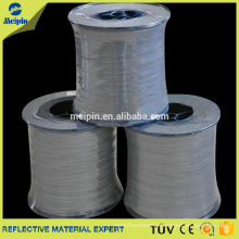 0.5mm Double Sided Reflective Yarn Thread For Weaving Ribbon