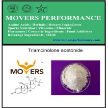 Acetonida de triamcinolona de grado alimenticio de alta calidad para suplementos deportivos