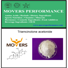 Acetonide triamcinolona de grau alimentar de alta qualidade para suplemento de esportes