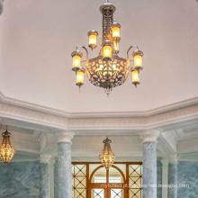 Candelabro de latão personalizado para projeto mesquita