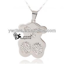 2014 bijoux fantaisie pendentif en acier inoxydable fabrication en Chine offre des femmes de mode avec le prix d'usine