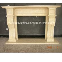 Beige Simple Style Marmor Kamin (SY-MF225)