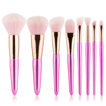 professionelle rosa Make-up Pinsel synthetisch