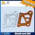 Peças usinadas CNC mecanizadas em alumínio anodizado, cnc virando peças automáticas