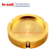 Kundengebundener Messing gedrehter / drehender Teil-Hersteller China