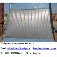 Wear life Johnson screen mineral processing screen panel