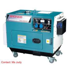 Geradores diesel silenciosos refrigerados a ar do AT50 de Bn5800dse / ATS automáticos