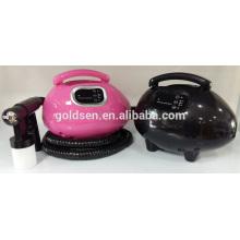 Casa Pequena Body Tanning Bed Mini HVLP Elétrica Pulverizador Tan Gun Professional Airbrush Máquina de bronzeamento de pele portátil