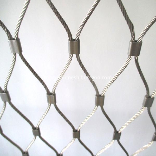 flexibel tainless steel rope net