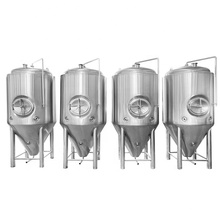 50L 100L 200L beer brewing equipment brew conical fermenter for brewery fermentation processing