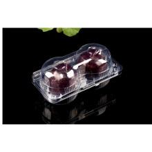 disposable transparent 2 pack apple fruit box