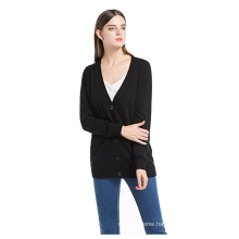 PK18A65HX Women's Long Sleeve Cashmere Cardigan Sweater